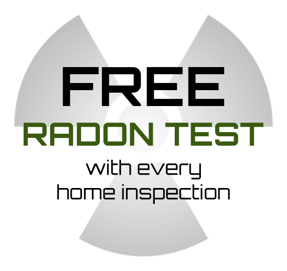 Free radon test with every home inspection